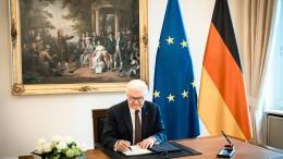 """Weg frei für den """"Wiederaufbaufonds"""""""