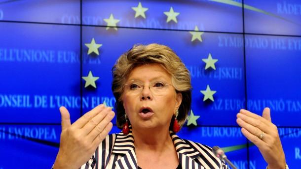 EU-Kommissarin plädiert für europäische Regierung
