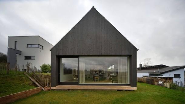 holzhaus im saarland. Black Bedroom Furniture Sets. Home Design Ideas