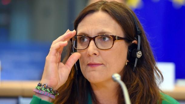 EU-Kommission für internationales Handelsgericht