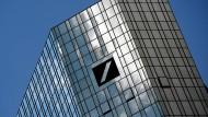Firmenzentrale der Deutschen Bank in Frankfurt