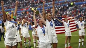 WM-Sieg der Amerikanerinnen beschert Nike Rekord