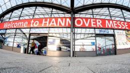 Hannover Messe fällt Corona zum Opfer