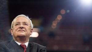 Anklage gegen ehemaligen VW-Chef Winterkorn erhoben