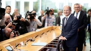 Scholz will 341 Milliarden ausgeben – und die Schwarze Null halten