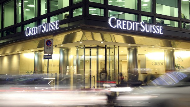 Positive Überraschung trotz Gewinnrückgangs bei Credit Suisse