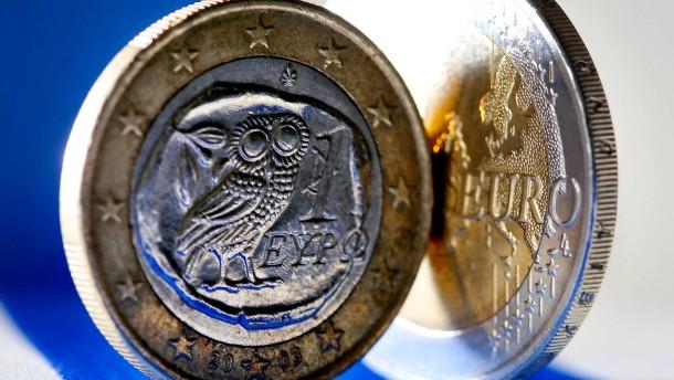 Deutschland will Griechenland in Eurozone halten
