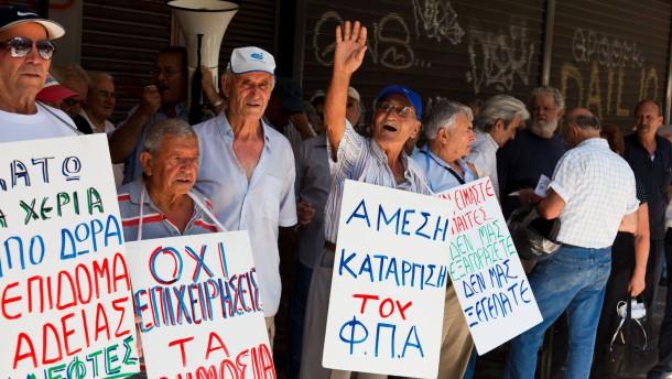 Griechenland beschließt harte Sparmaßnahmen