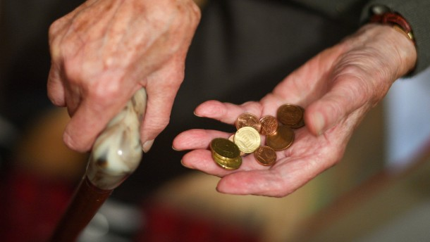 Streit um die Rente