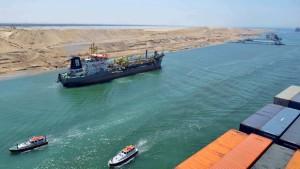 Ägypten feiert Erweiterung des Suezkanals