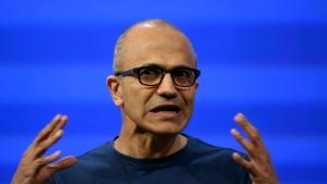 Microsoft verdient unter neuem Chef weniger