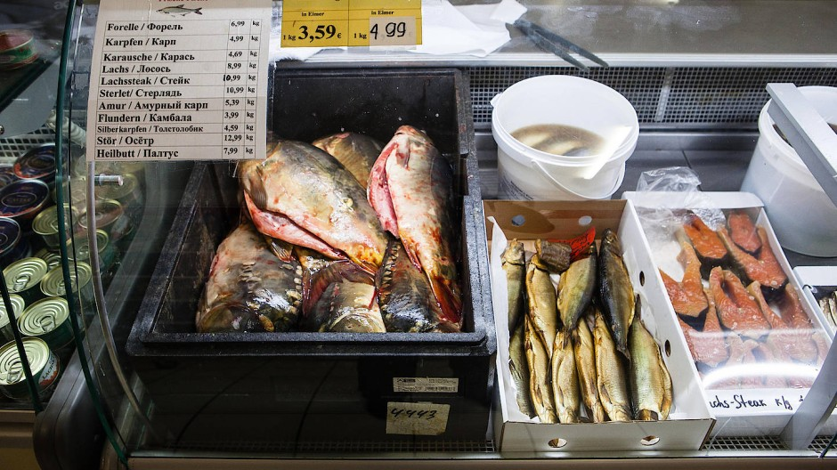 Fisch wurde um 3,2 Prozent teurer.