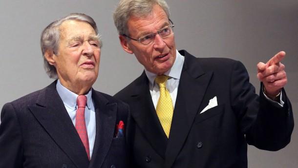 Beitz will als Chef der Krupp-Stiftung weitermachen