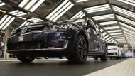VW-Produktion an sechs Standorten beeinträchtigt