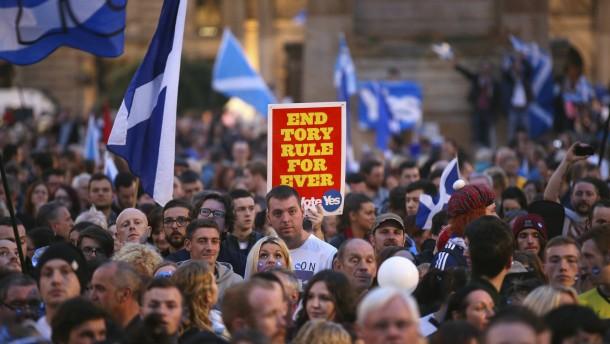 """Was passiert, wenn die Schotten """"Yes"""" sagen?"""