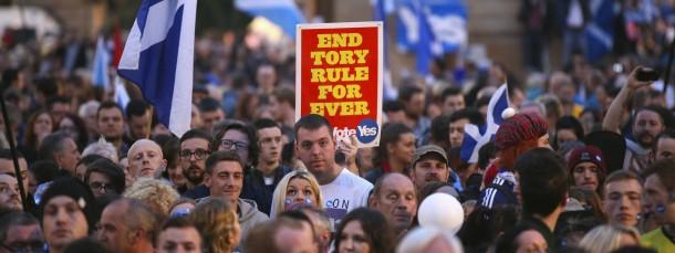"""Endet nun die """"Herrschaft der Tories"""" über die Schotten?"""