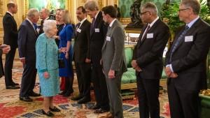 Die Königin muss sich schonen