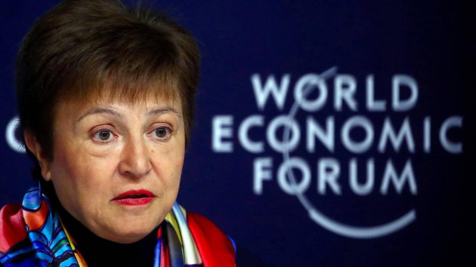 Seit Christine Lagardes Wechsel zur EZB steht sie an der Spitze des IWF: Kristalina Georgiewa