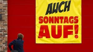 Mehrheit der Deutschen will mehr Sonntagsöffnungszeiten