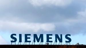Lauter neue Führungspersonen bei Siemens