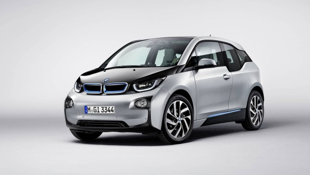 BMW präsentiert Elektroauto i3