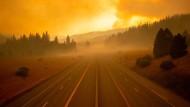 Interstate 5 in Kalifornien: In keinem anderen Emissionshandelssystem wird eine so hohe Abdeckung erreicht wie in dem amerikanischen Westküstenstaat. 85 Prozent des dortigen CO2-Ausstoßes wird vom System erfasst.