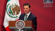 "Mexikos-Präsident Enrique Peña Nieto will ""Made in Mexiko"" stärken."