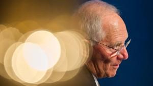 Schäuble: Das Bankgeheimnis hat ausgedient