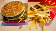 Bald kommt der Big Mac nach Hause