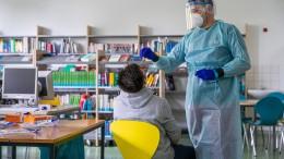 Lehrer wollen nicht zu Corona-Testern werden
