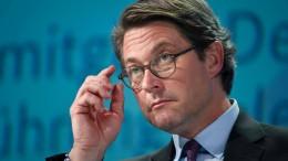 Scheuer wehrt sich gegen Kritik des Rechnungshofs