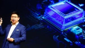 Huawei: Uns gehen die eigenen Hightech-Chips aus