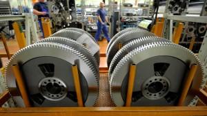 Maschinenbau begräbt die Wachstumshoffnung