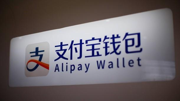Deutsche Läden schalten China-Zahldienst Alipay frei