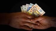 Dubiose Geldgeschäfte nehmen laut Transparency International zu.