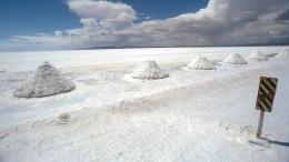 Deutsche Unternehmen fördern Lithium in Bolivien