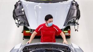 Porsche kündigt Bau einer Batteriezellenfabrik in Tübingen an