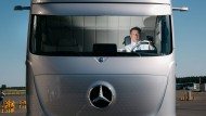 Daimler schickt selbstfahrende Trucks auf die Autobahn