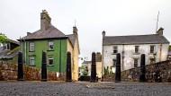 Grüne Grenze: Sie verläuft zwischen der Republik Irland und Nordirland durch Dörfer und Straßenzüge.