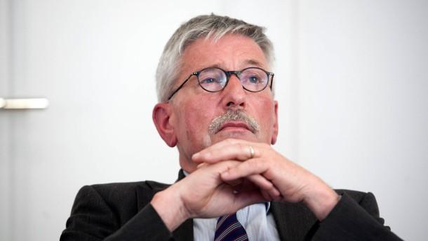 Thilo Sarrazin, Buchautor und ehemaliger Finanzsenator von Berlin