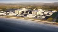 Britische Regierung bremst Atomkraft-Riesenprojekt