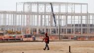 Verlassene Baustelle: Ford hat seine Pläne für das Werk im mexikanischen San Luis Potosi gestoppt.