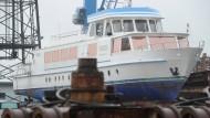 """Die """"Vineta"""" wird am 7. Dezember in Rostock versteigert."""