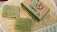 Im syrischen Aleppo hergestellte Bio-Seife