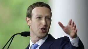Mark Zuckerberg wird politisch