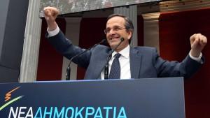 Griechische Sparbefürworter können auf Wahlsieg hoffen