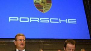 Porsche rast voraus