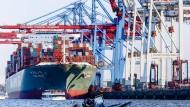 Hier war schon mal mehr los als im ersten Halbjahr 2016: Das Hamburger Containerterminal Tollerort
