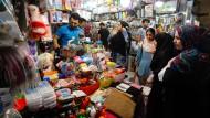 Konsumfreudige Iraner: Geschäft in Teheran
