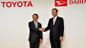 Toyota übernimmt Daihatsu komplett